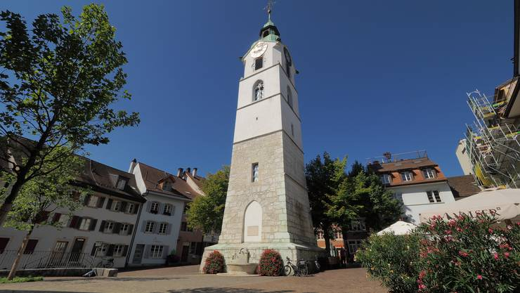 Der Ildefonsplatz in der Oltner Altstadt.