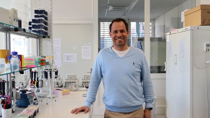 Meilenstein nach über zehn Jahren Forschung:  Ralph Schiess brachte einen Test für Prostatakrebs auf den Markt.