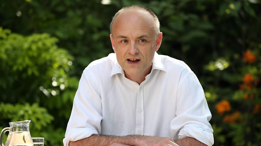 Der Ex-Berater des britischen Premierministers  Johnson, Dominic Cummings. (Archivbild)