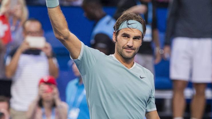 Der Tennis-Maestro ist zurück.