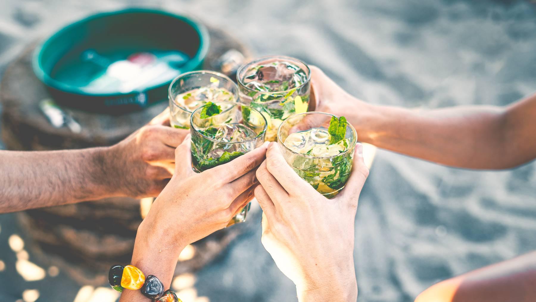 Gin Tonic Getränk