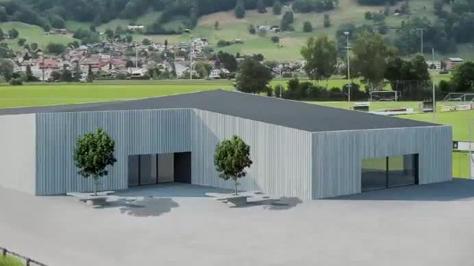Der Neubau soll auch für Turnvereine und die Guggenmusiker Platz haben.