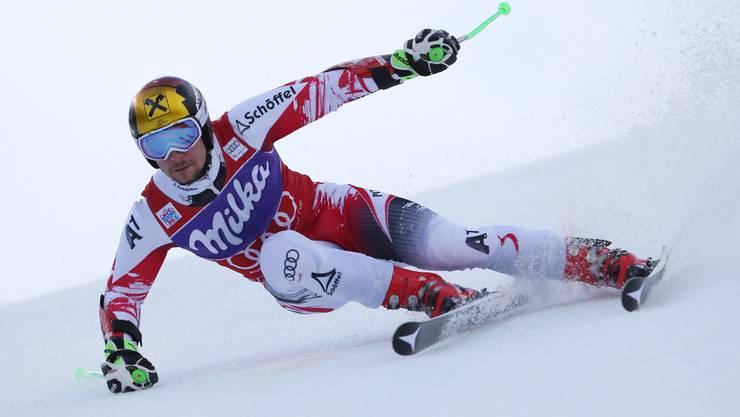 Marcel Hirscher dominierte auch in Adelboden. Und wie: Mit 1,13 Sekunden Vorsprung deklassierte er die Konkurrenz