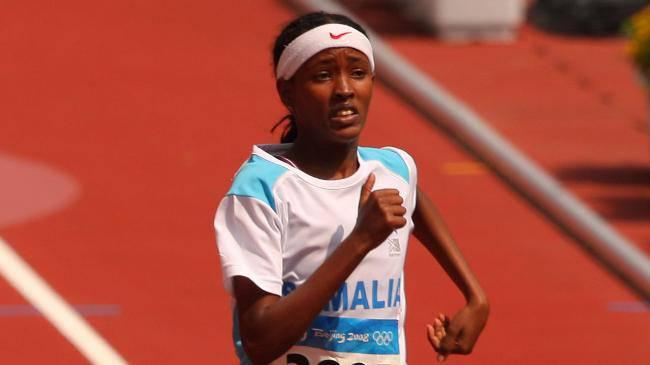 Samia Yusuf Omar an den Olympischen Spielen in Peking
