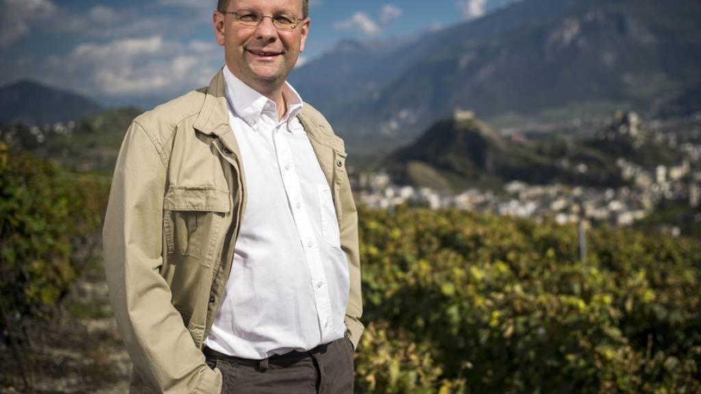 Der Walliser Weinhändler Dominique Giroud musste sich wegen Steuerdelikte schon mehrmals vor Gericht verantworten. (Archiv)