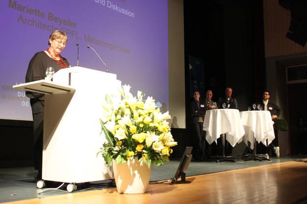Experten diskutierten auf dem Podium