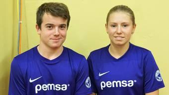 Robin und Paula: Ballkinder an den Swiss Indoors Basel.