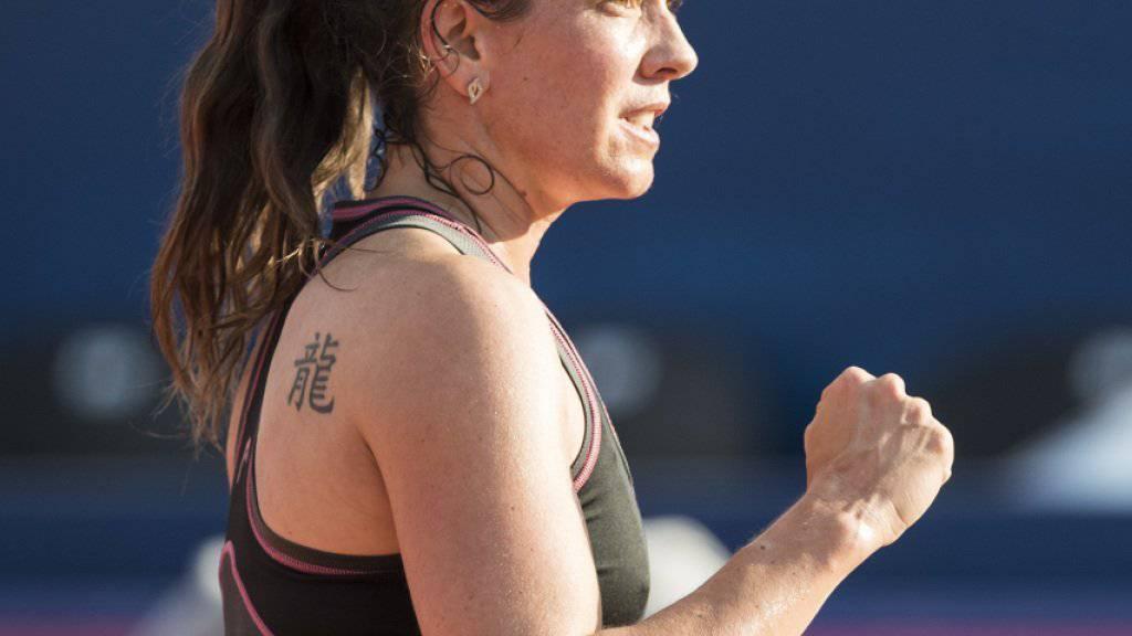Patty Schnyder feuert sich beim Frauenturnier in Gstaad an