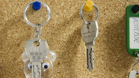 Schlüsselanhänger (Symbolbild)