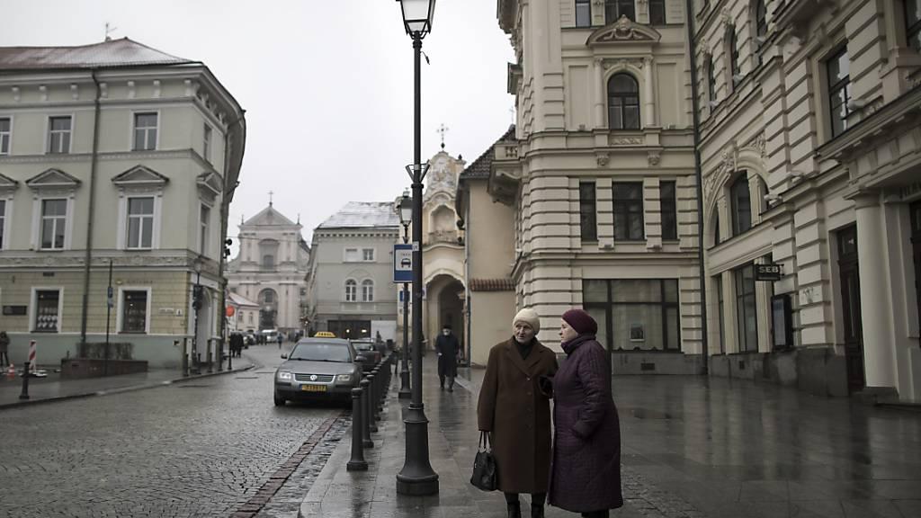 Litauen veröffentlicht Bewegungsrouten von Coronavirus-Infizierten