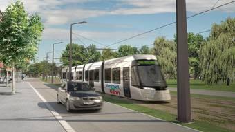 Die geplante Limmattalbahn spielt eine zentrale Rolle bei der Verkehrsplanung