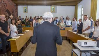 Wird 2021 die Nachfolge von Kurt Fluri nur noch zehn Mitglieder im Gemeinderat begrüssen?