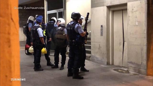 Wipkingen: Grosseinsatz aufgrund von illegaler Party