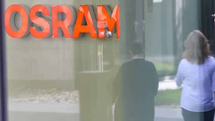 Der österreichische AMS-Konzern startet einen neuen Versuch zur Übernahme von Osram. (Symbolbild)