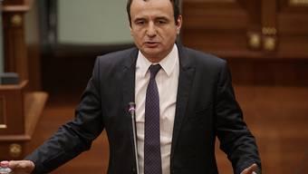 """Albin Kurti, der neue Premierminister des Kosovos, versprach in seiner Regierungserklärung eine """"neue Ära"""", in der es keine Korruption und Vetternwirtschaft mehr geben werde. (Archivbild)"""