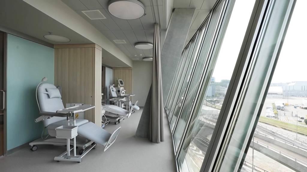 Universitäts-Kinderspital eröffnet Notfallpraxis am Flughafen Zürich