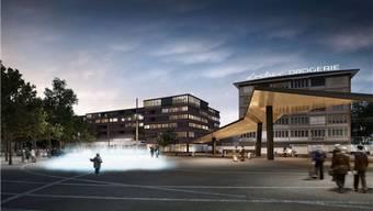 Neues Stadtzentrum Schlieren