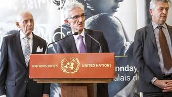Die Ausgaben für humanitäre Hilfe steigen rapide an. Für 2018 rechnen die Vereinten Nationen mit einer Rekordsumme von umgerechnet 22,1 Milliarden Franken. (Archiv)