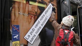 In Genf kämpft eine Volksinitiative gegen die Werbung auf öffentlichem Grund. (Archivbild)
