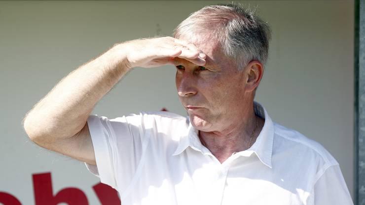 FC-Aarau-Präsident Alfred Schmid