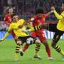 Am Dienstag trifft Leader Bayern München auswärts auf Borussia Dortmund