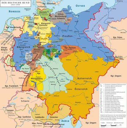 Deutschland nach 1815.