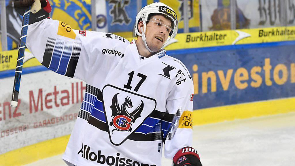 Andrew Miller fällt bei Fribourg-Gottéron für rund drei Wochen aus