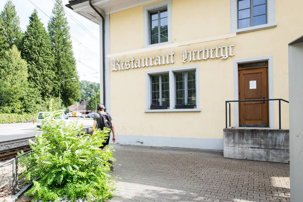 Die Herberge Teufenthal an der Wynetalstrasse 9, am 3. August 2017. In diesem Gebäude werden Sozialhilfeempfänger untergebracht.