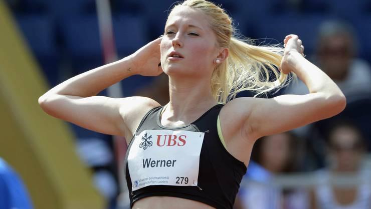 400-m-Läuferin Simone Werner führt das Team an.