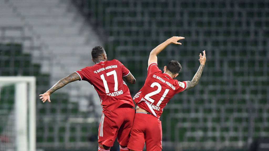 Bayern feiern den 8. Meistertitel in Folge