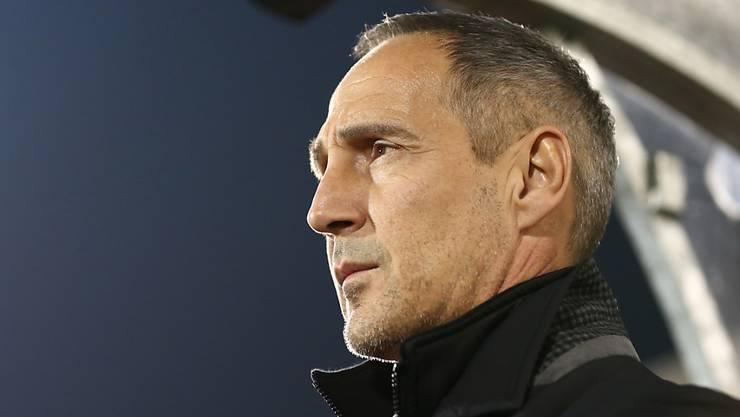 Adi Hütter will auch als Frankfurt-Trainer für Furore sorgen.
