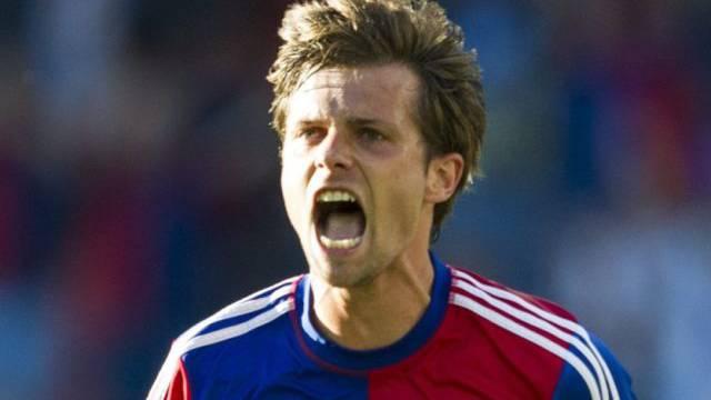 Valentin Stocker Matchwinner für den FC Basel.