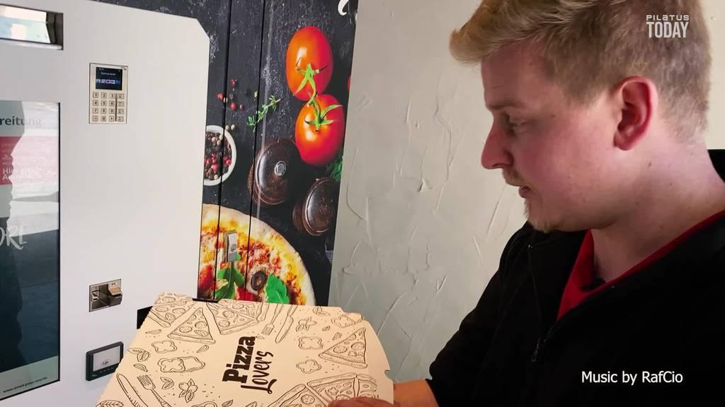 Der Luzerner Pizza-Automat ist schon wieder ausser Betrieb