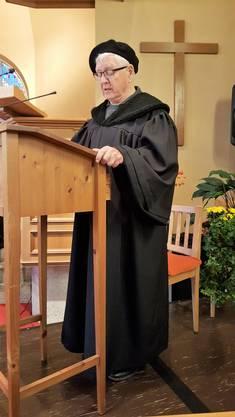 Urs Neuenschwander hat Luther gesprochen