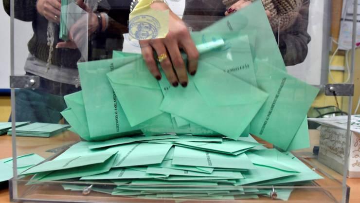 Wahlresultat vom Sonntag: Spaniens ultrarechte Partei Vox zieht ins Regionalparlament von Andalusien ein.