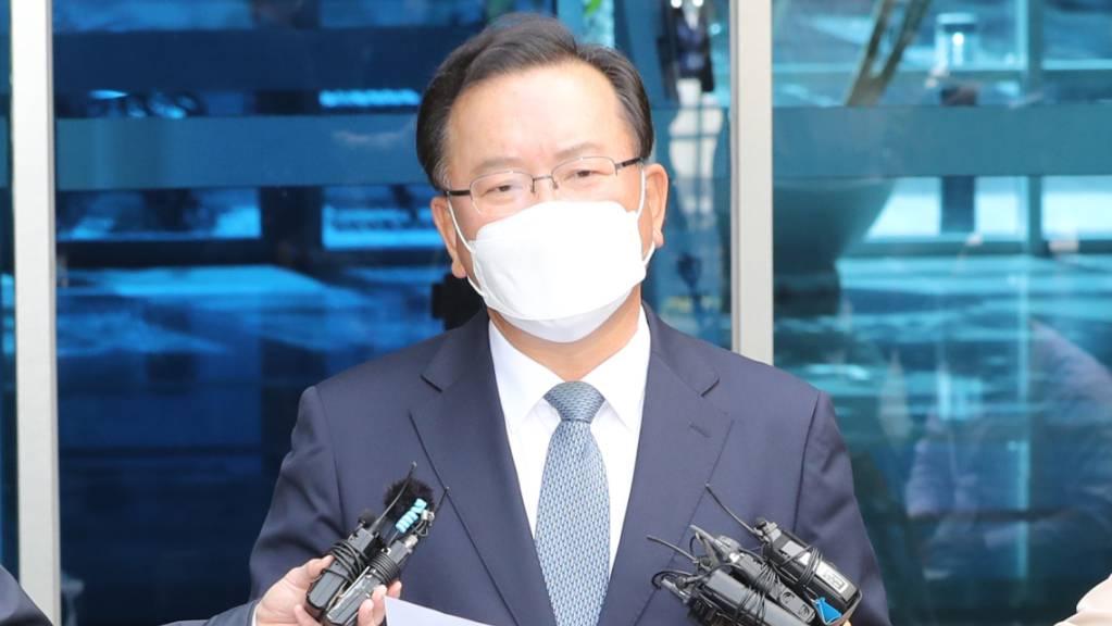 FILED - Der frühere Innenminister Kim Boo Kyum soll der neue Ministerpräsident Südkoreas werden. Photo: -/YNA/dpa