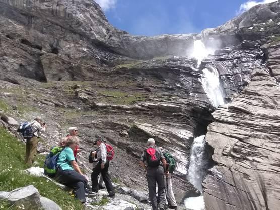 Wasserfall auf dem Segnesboden