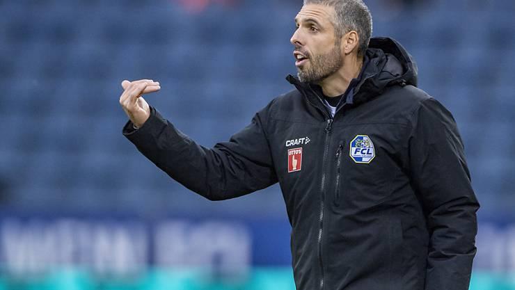 Bei weiteren Niederlagen dürfte auch einiges auf Luzern-Coach Fabio Celestini zukommen