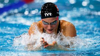 Maria Ugolkova konnte sich im Final über 100 m Lagen nicht steigern