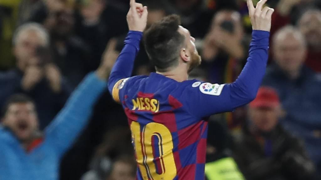 Barcelona gewinnt dank Hattrick von Lionel Messi