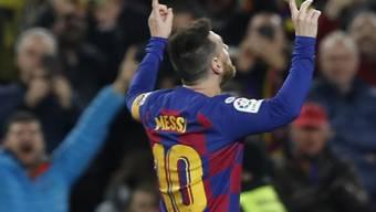 Lionel Messi brilliert im Camp Nou einmal mehr