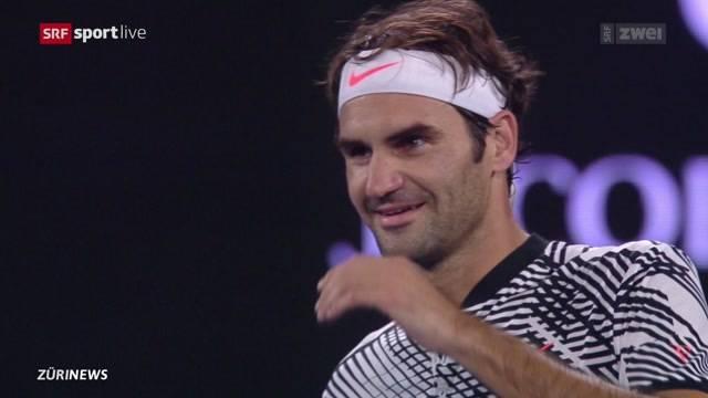 Schweizer Tennisspieler auf Siegeskurs