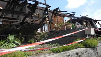 Brandschäden in Lüterkofen