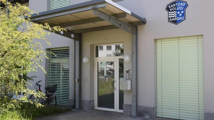 Wird geschlossen: Kapo-Posten in Wohlen. Toni Widmer