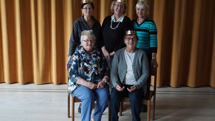 Maria, Liz, Ursula, Vreni und Verena.