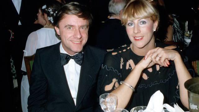 Da war die Ehe noch intakt: Kabarettist Emil Steinberger mit seiner damaligen Ehefrau Maya (Bild aus den 80er-Jahren). Foto: schneider-press