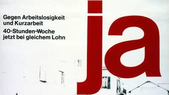1976 stimmte die Schweiz über die Einführung der 40-Stunden-Woche ab. Die Initiative scheiterte kläglich: Der Ja-Anteil betrug lediglich 22 Prozent. In Basel-Stadt stimmten immerhin 32,6 Prozent für die Vorlage.
