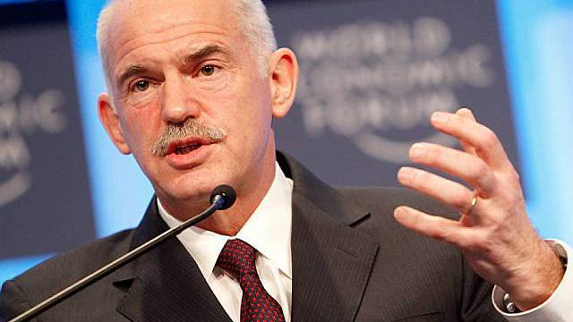 Giorgos Papandreou, Premierminister Griechenlands, am WEF
