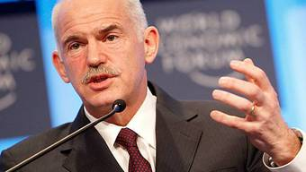 Giorgos Papandreou, Premierminister Griechenlands, am WEF