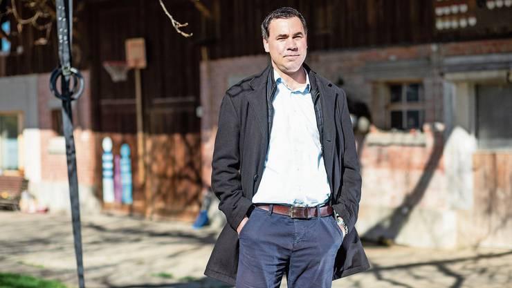 Martin Rufer, neuer Direktor des Schweizer Bauernverbandes und FDP-Kantonsrat in Solothurn.